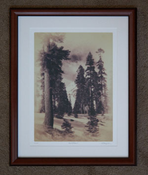 photo of framed print