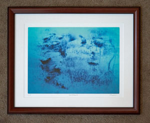 photo of framed art work